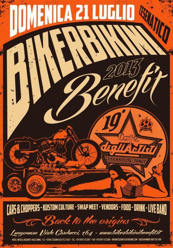 19° Biker Bikini Benefit - Cesenatico - 21 Luglio 2013