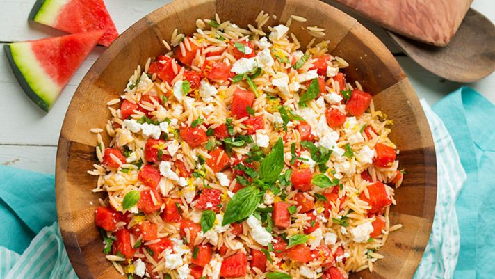 15 Better-Than-Average Orzo Salad Recipes to Try This Week