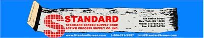 Manufacturers of screen printing supplies, inks, and emulsions. Custom silk screen burning and screens made to order