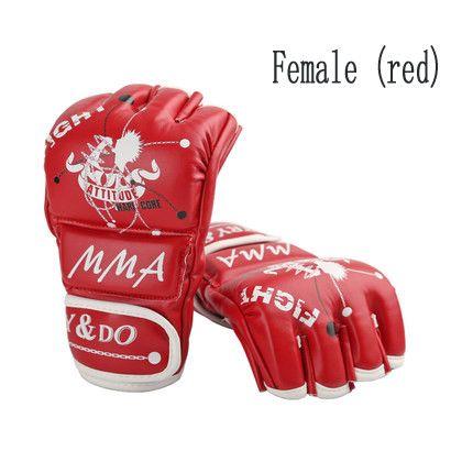 Half Finger Boxing/MMA Gloves