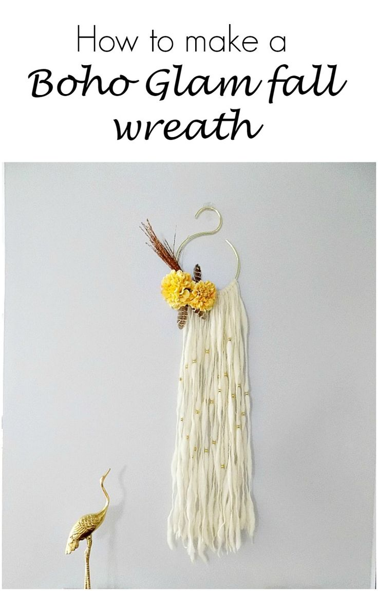 how-to-make-a-boho-glam-fall-wreath
