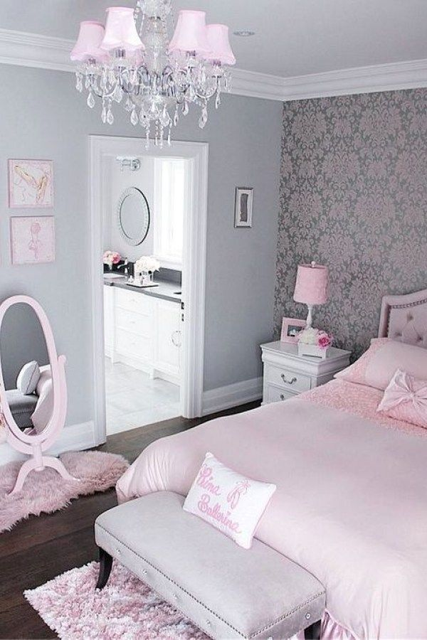 Cute Pink Bedroom Design Ideas 8 Copy Copy (With images) | Pink ...