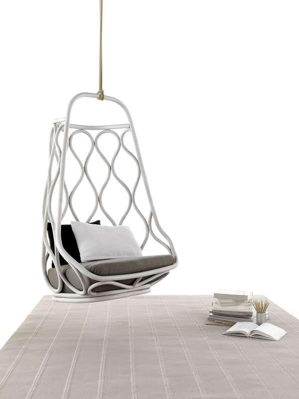 Nautica Hanging Chair byMut Design: Ideas, Interior, Mut Design, Rattan Hanging, Náutica Hanging, Hanging Chairs, Furniture, Nautica Hanging