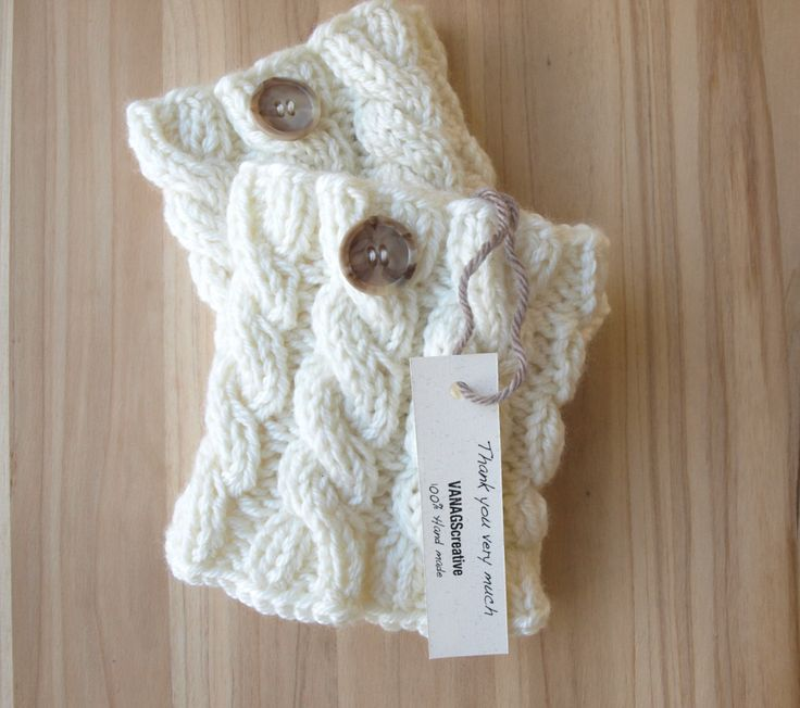 Knitted+Boot+Cuffs++Ivory+Gray+Black+Knit+Boot+by+VANAGScreative,+$25.50