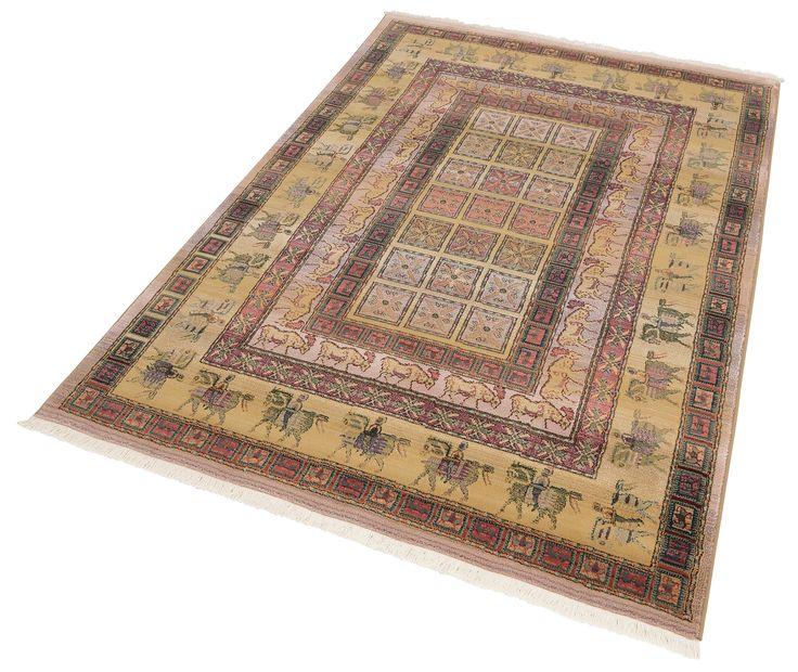 Oriental Weavers Orientteppich »Gabiro Pazyryk« blau, B/L: 115x170cm, strapazierfähig Jetzt bestellen unter: https://moebel.ladendirekt.de/heimtextilien/teppiche/orientteppiche/?uid=909b2f31-9c19-5943-a742-da081c492e46&utm_source=pinterest&utm_medium=pin&utm_campaign=boards #heimtextilien #orientteppiche #teppiche