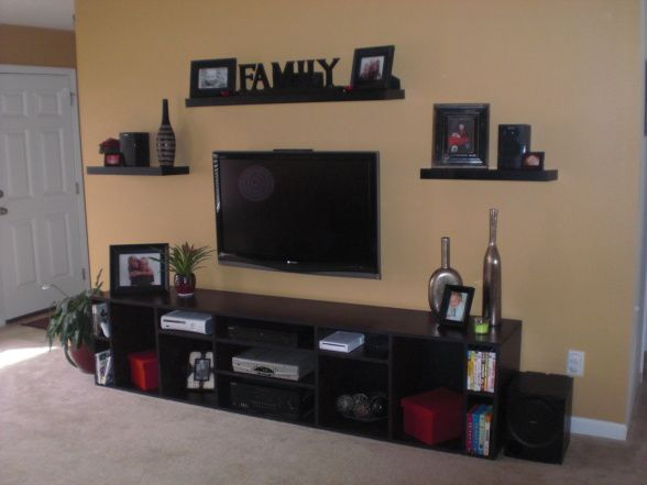 Wall Decor Set Up : Best entertainment wall ideas on tv