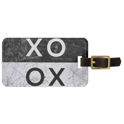XO XO BAG TAG - minimal gifts style template diy unique personalize design