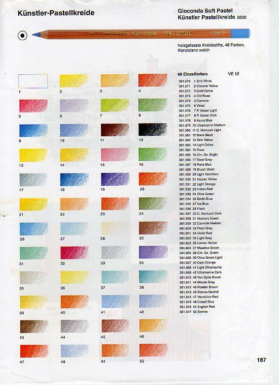 Pastellstifte - 12 Stück Einzelstifte - FREIE FARBWAHL | eBay
