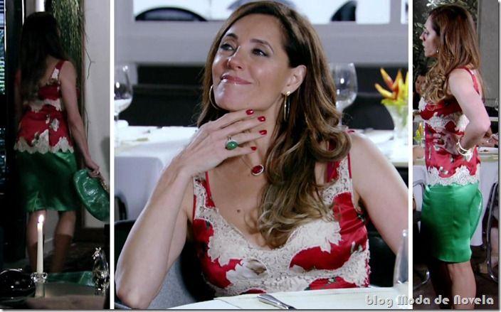 Looks em fevereiro de Tereza Cristina e Vanessa na novela Fina Estampa