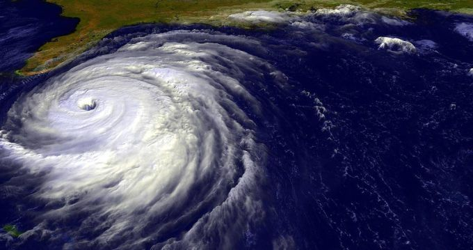 Hurricane names with male names appear to be taken more seriously.