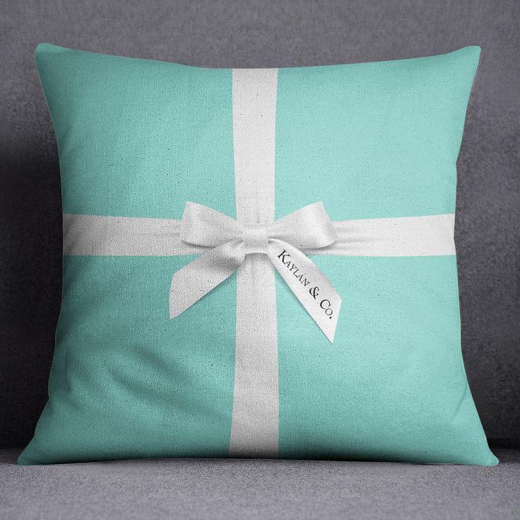 Designer Inspired Tiffany & Co Style Pillow