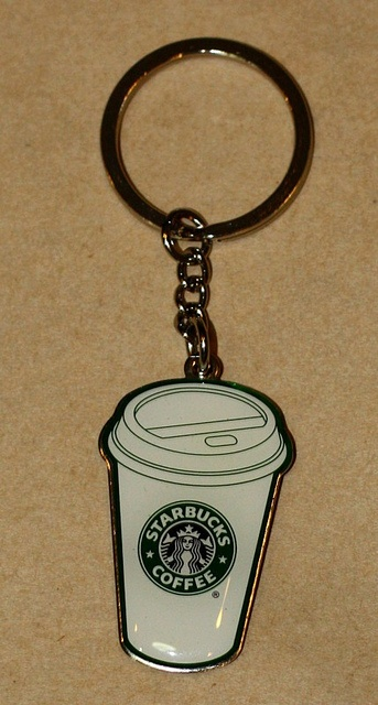 Starbucks Keychain by Sumeth                   @  Flick - Photo Sharing!