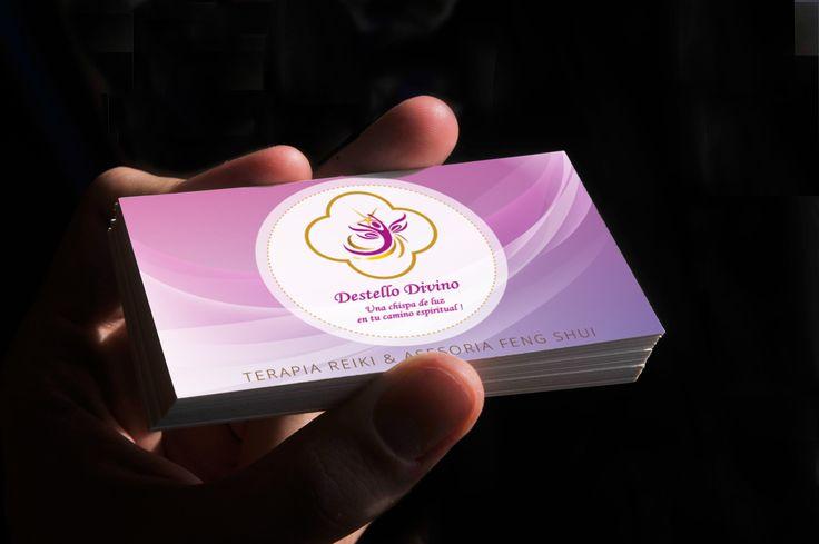 Destello Divino Business Cards