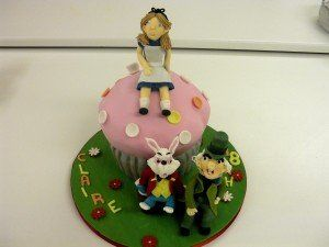 """The theme for this birthday party was """"Mad Hatter's Tea Party""""."""