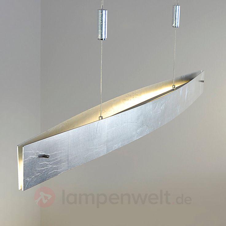 Antik Silberfarbene LED Hängeleuchte Malu, Dimmbar 6722191