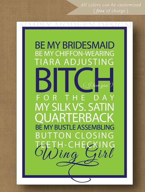 With a strongly worded but honest card.