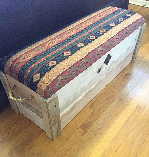 48x17x18 Bedroom Storage Alcove Bedroom Storage Apartment Bedroom Storage Attic Bedroom Stor In 2020 Rustic Storage Bench Storage Bench Bedroom Bench With Storage