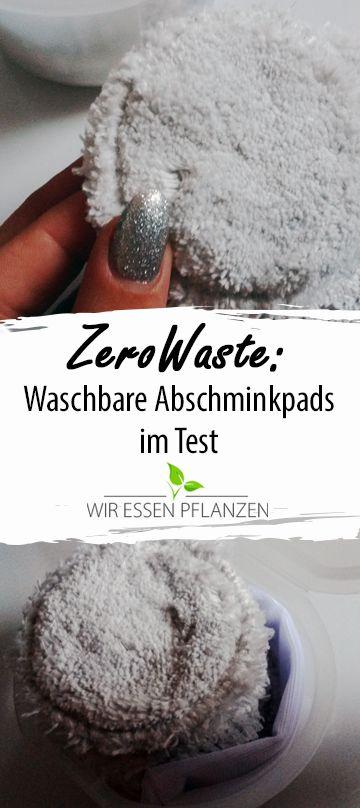Abschminkpads aus Stoff im Produkttest. Eine Alternative zu Abschminktüchern und Baumwollpads im Hinblick zu mehr Nachhaltigkeit im Alltag.  #zerowaste #review #minimalismus #beauty