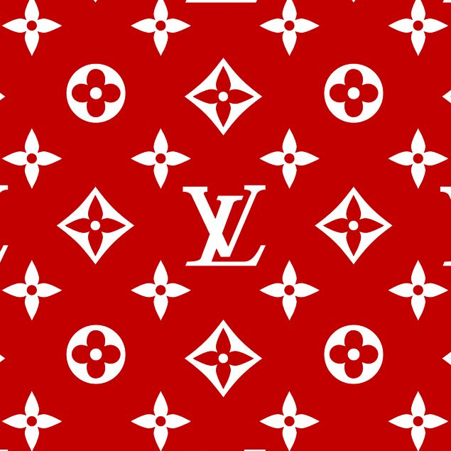 Louis Vuitton Red Beach Towel Lv Supreme Duvet Cover Bed Blanket Red White Decor Gucci Prada Ysl Iphone Background Red Red And White Wallpaper Red Wallpaper