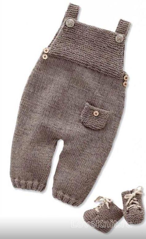 детский полукомбинезон с карманом и пинетками фото к описанию