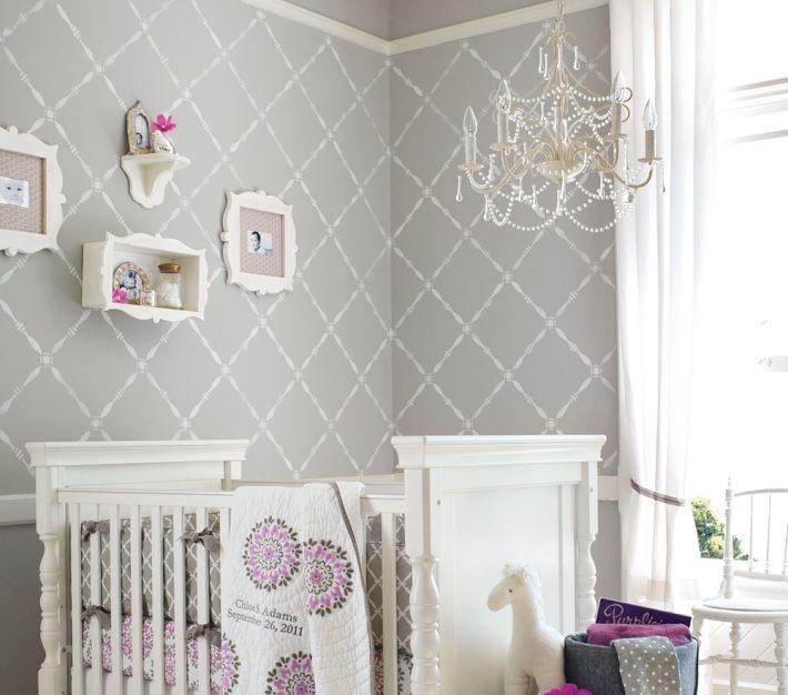 Mia Chandelier Girl Room Baby Girl Room Baby Girls Nursery