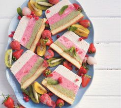 Tutti Frutti Ice Cream Cake #Dessert #Recipe #SouthAfrica