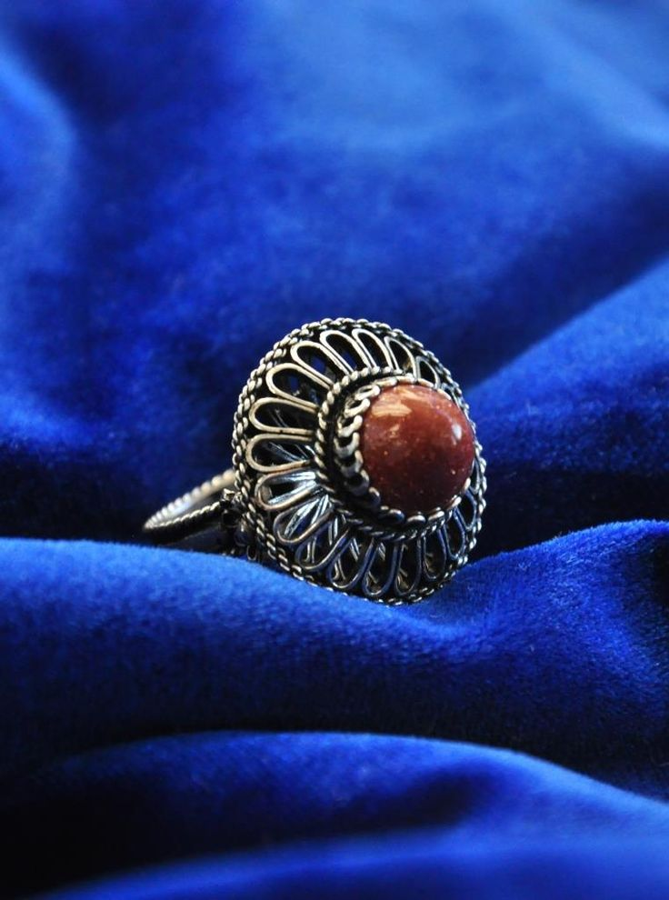 Brown  Traditional Silver Filigree www.silverfiligree.tumblr.com