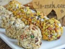 shop fashion online Feta Cheese Balls With Walnut And Pistachios Recipe