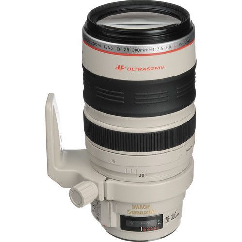 Canon EF 28-300mm f/3.5-5.6L IS USM A handy, compact zoom lens for versatile and…