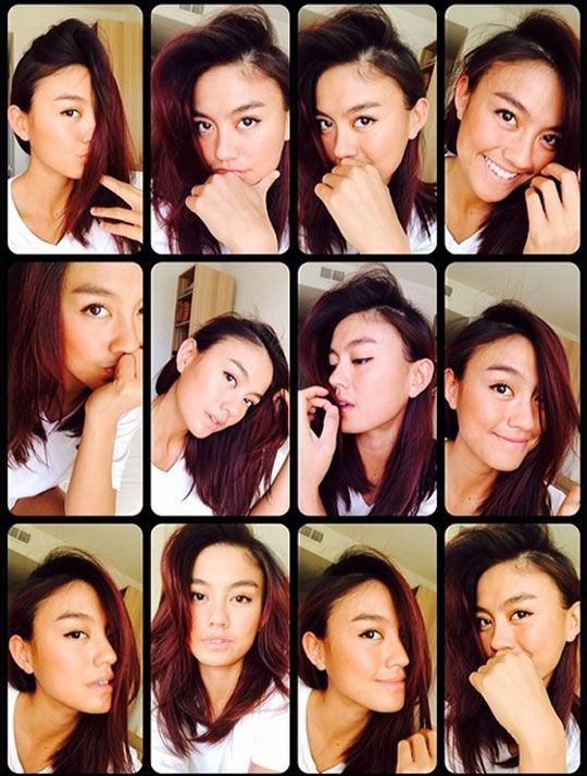 Agnez Mo Selfie Photos