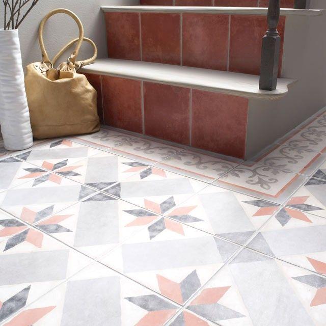 Carrelage Imitation Carreaux De Ciment Castorama Flooring Bathroom Decor Tiles