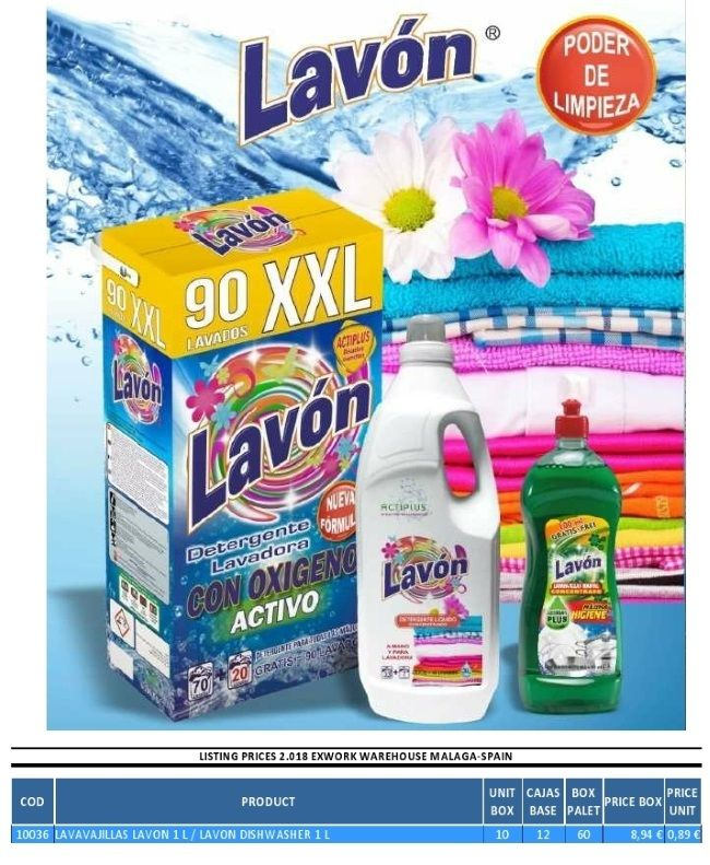 Lavon Dishwashing Liquid Detergent 1 L Dishwashing Liquid
