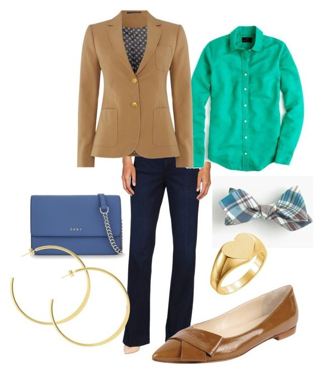 """Geri"" by someliketoshop on Polyvore featuring J.Crew, NYDJ, GANT, Butter Shoes and DKNY"