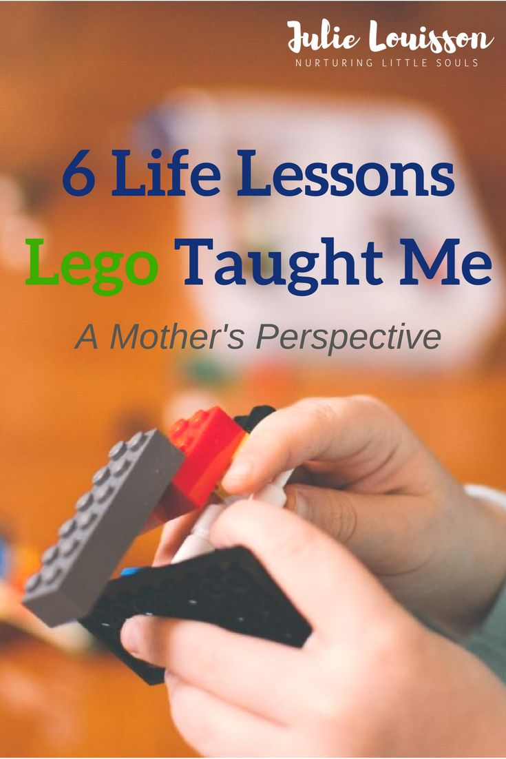 I've spent many hours making Lego creations with my son.  In this post, I share some lessons I've learned on the way - Julie #julielouisson #spiritualparenting #parenting #lego