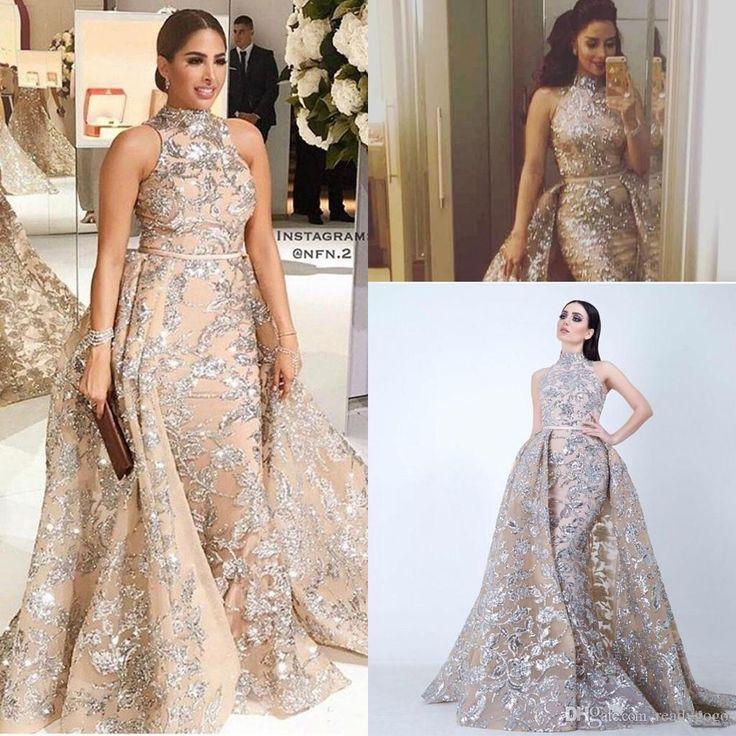 Sparkle Prom Dresses 2018 Plus Size Tan