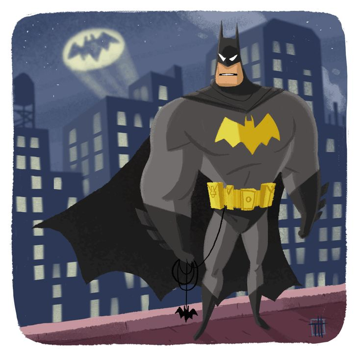 Another motion Illustration to celebrate Batman's 75th birthday!!