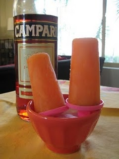Orange & Campari Popsicles | Thanks for coming. | Pinterest ...
