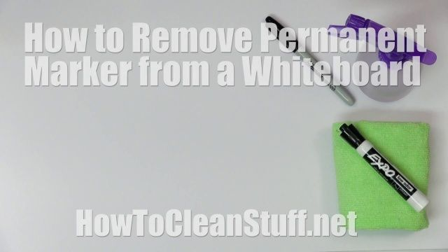 How To Remove Permanent Marker From A Dry Erase Board How To Clean Stuff Net Remove Permanent Marker Dry Erase Board How To Remove Sharpie