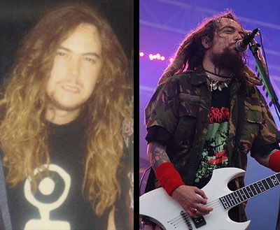 ex vocals 1985-1996,guitars 1984-1996 Max Cavalera