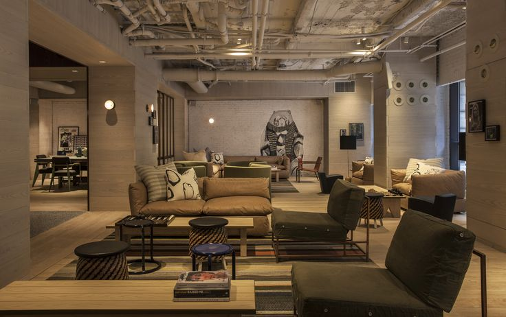 Moxy is the newest affordable hotel in nyc interiors - Affordable interior designers nyc ...