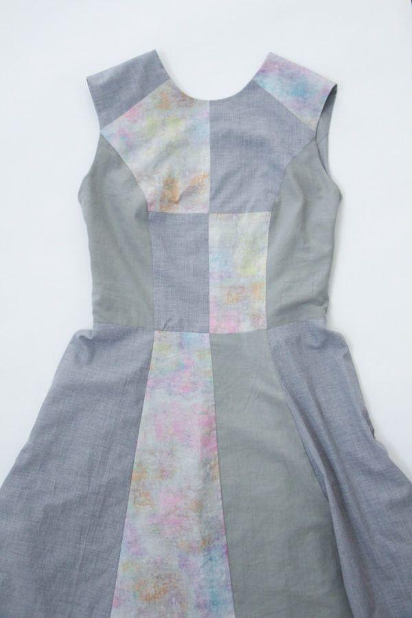 megan nielsen design diary: How to fully line a sleeveless dress