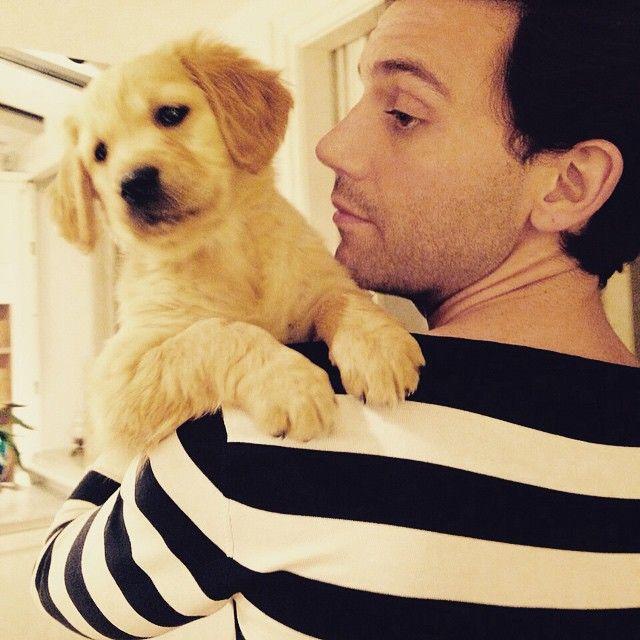 Mika & new puppy!! <3