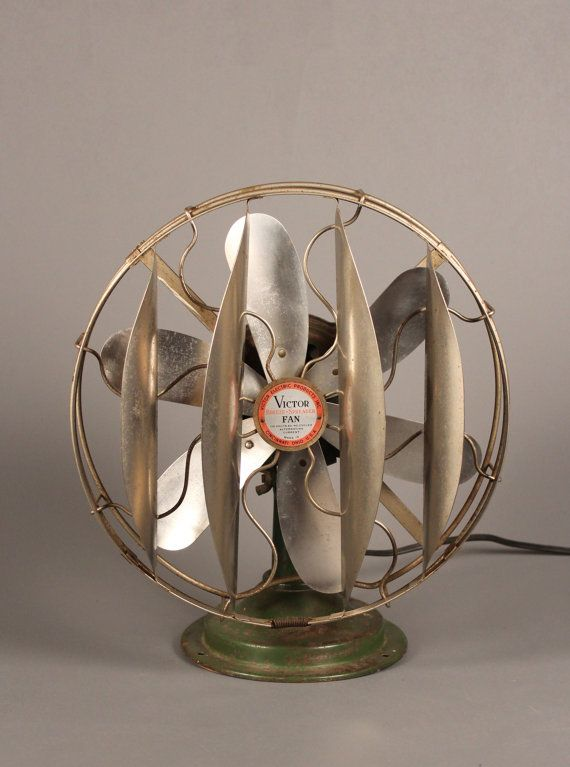 Antique Electric Fan Victor Breeze Spreader by TheOrangeHorse