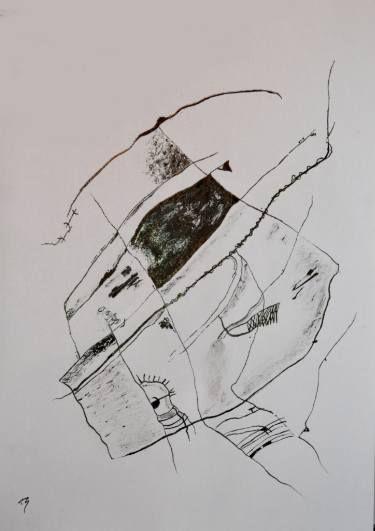 "Saatchi Art Artist Alexandru Ilea; Drawing, ""Composition"" #art"