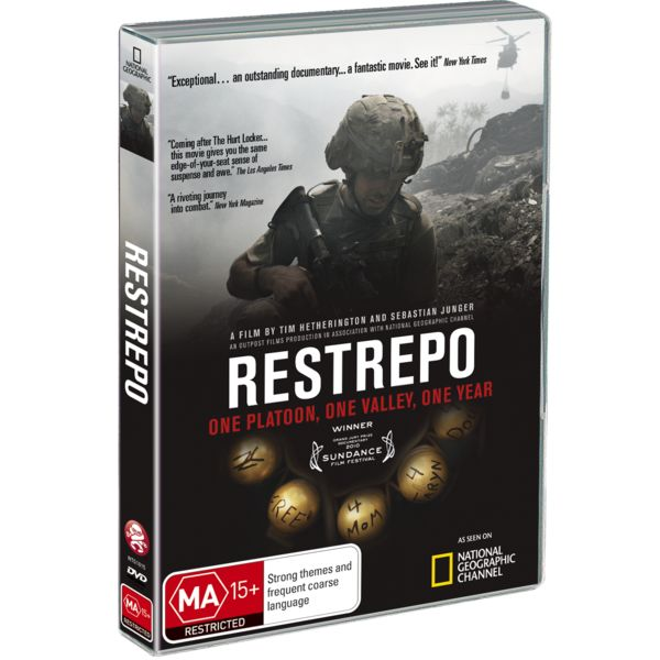 One Platoon, One Valley, One Year Its Restrepo Korengal Afghanistan : new dvd