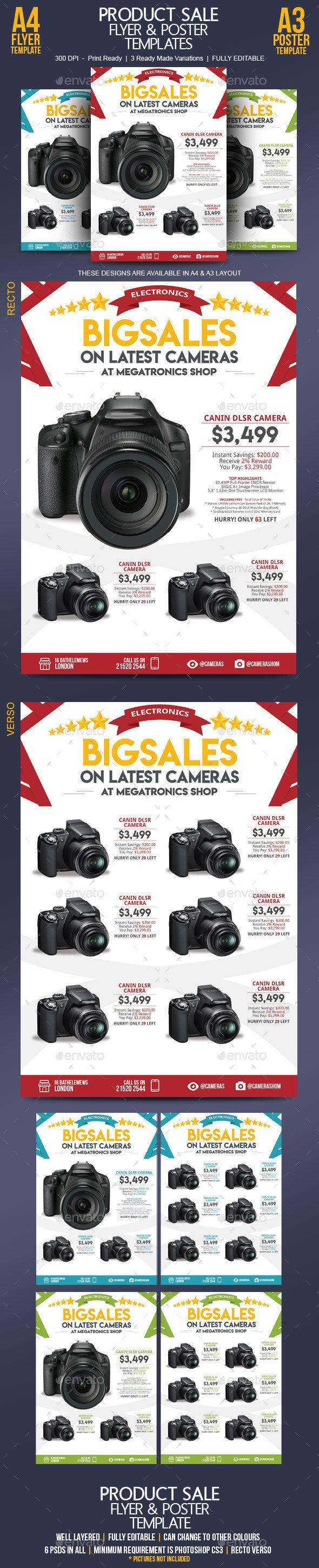 Sale #Flyer Template - Commerce Flyers