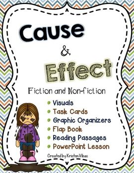 Your students will have lots of fun learning about cause and effect relationships! 50+ pages of leveled resources!