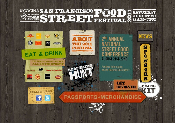 La Cocina SF Street Food Festival 2011 website