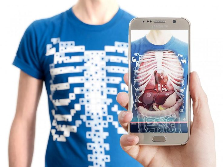 Virtuali-Tee is a t-shirt with guts. What kid wouldn't want x-ray vision? It projects biology onto children to teach them about the body.