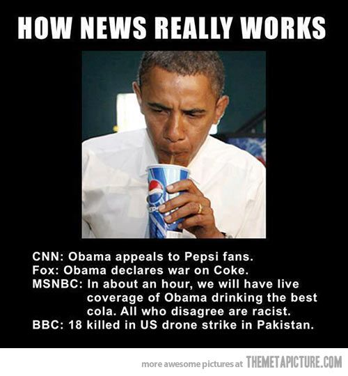 How the news really works…